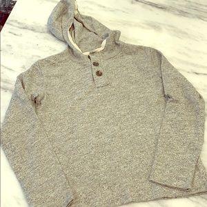 J Crew Crewcuts Gray Pullover Sweatshirt w/ hood